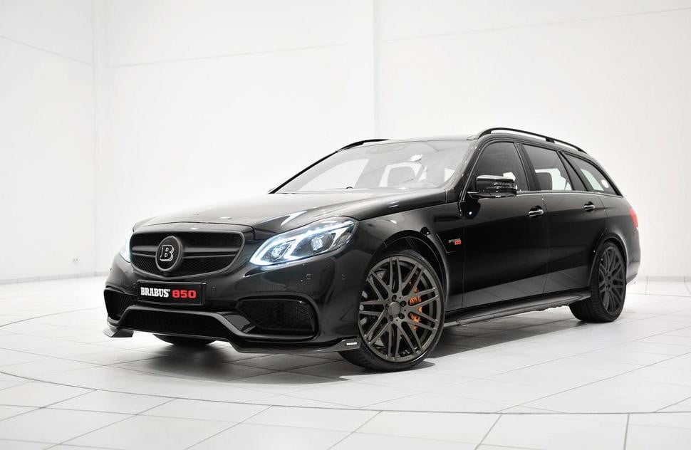 Mercedes Benz E63 Amg 850 Brabus 6 0 Is The Ultimate Wagon Digital