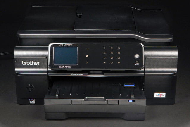 Brother MFC-J870DW front top angle