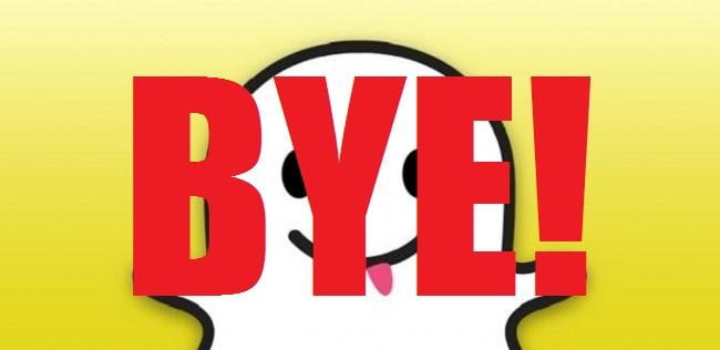 how to get rid of snapchat text on a photo