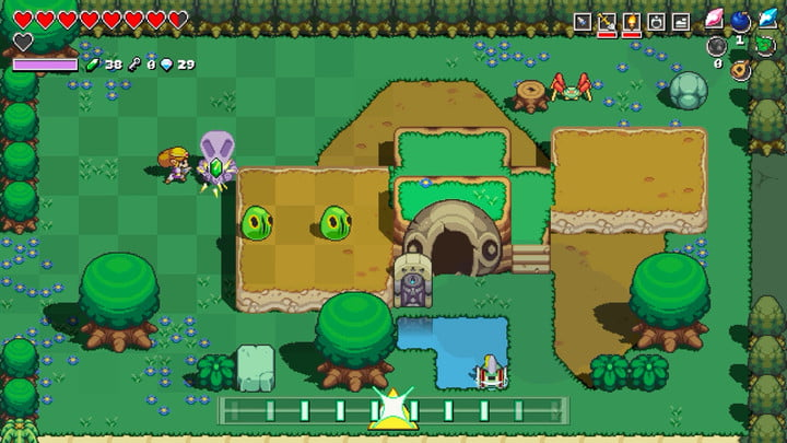 Cadence Of Hyrule Is The First Truly Amazing Zelda Spinoff Digital Trends
