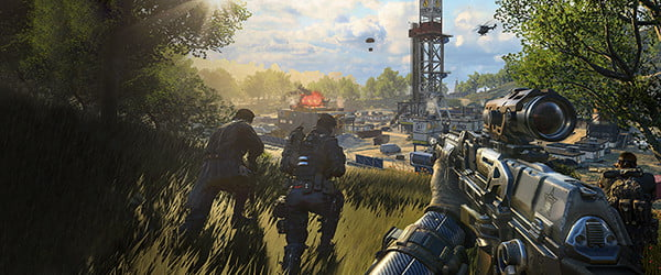 'Black Ops 4' outshines the games it copies with that Call of Duty polish