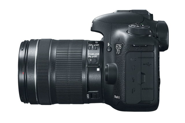 hands on review canon eos 7d mark ii left side press image