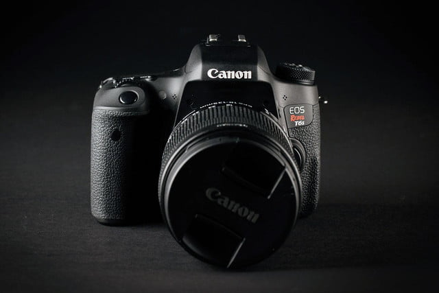 canon eos rebel t6s front