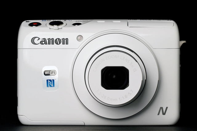 Canon N100 front no flash
