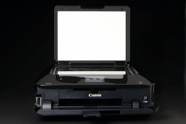 Canon Pixma MG7520 scanner bed open
