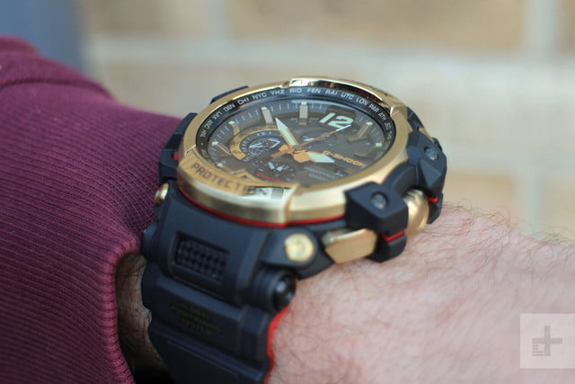 Casio G Shock GPW-2000 review arm up