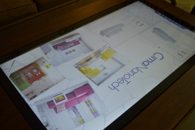 cima wants to put 40 inch touchscreens in coffee tables table ikea 2