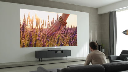 LG's First Short-Throw Projector TV Is a $6,000 4K HDR, Twin