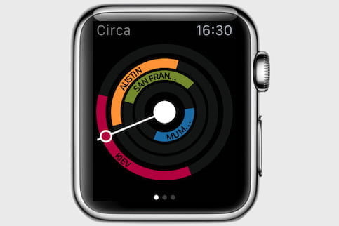 The best apple watch apps digital trends circa allows you to keep track of international timezones at a glance and work out what time it is elsewhere in the world the clear and easy to use gumiabroncs Choice Image