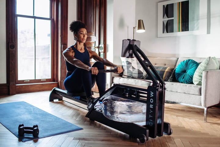 Row your way to a healthy bod with the CityRow Go connected rowing machine