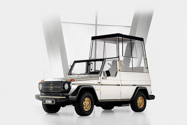 10 sweet popemobiles that will make you wish held the keys of heaven classic virtueller rundgang exponate collection mercedes