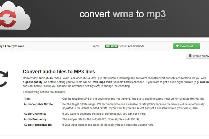 Here's How to Convert a File from WMA to MP3 | Digital Trends