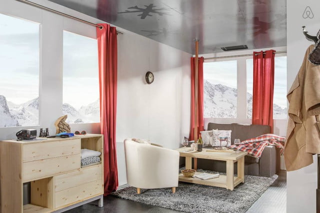 airbnbs new a night at contest is for cable car in the french alps courchevel airbnb b36728c9