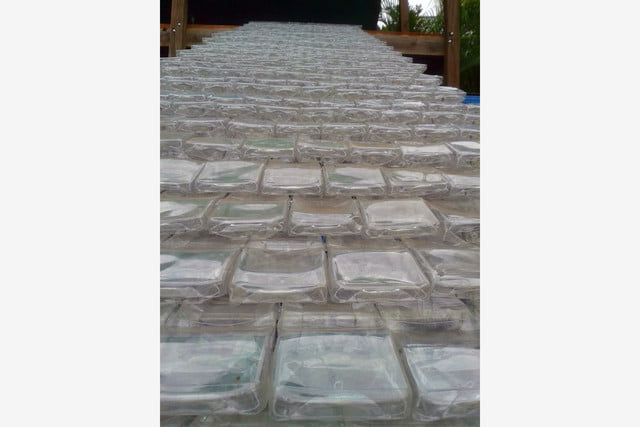 agua water bottles were designed to become roof tiles crdc costa rica 3