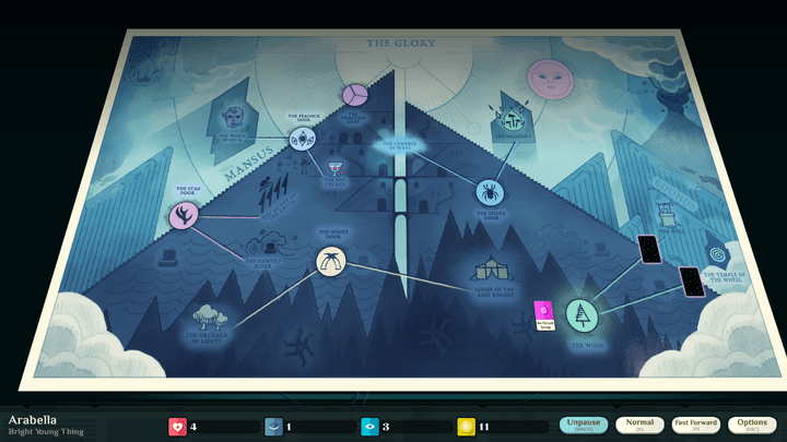 cultist simulator the glory mountain