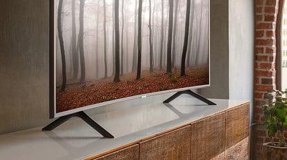 This Incredible Deal On A Curved Samsung 4K TV Won't Be