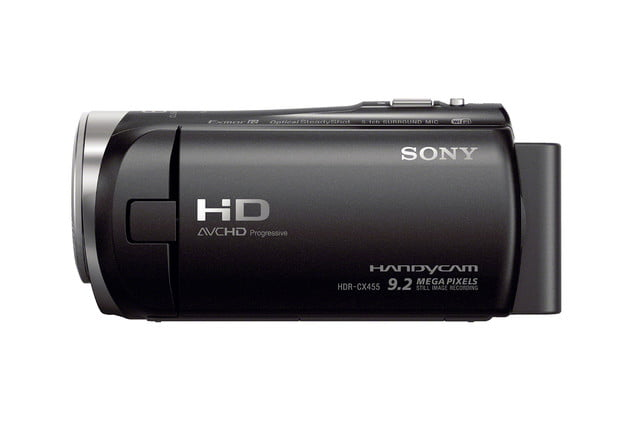 sony action cam and camcorders cx455 0001