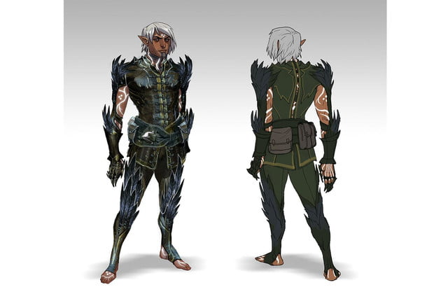 heres everything need know story leading dragon age inquisition daii concept art 14