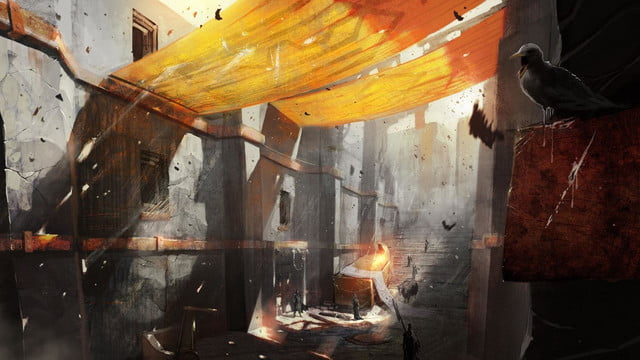 heres everything need know story leading dragon age inquisition daii concept art 24