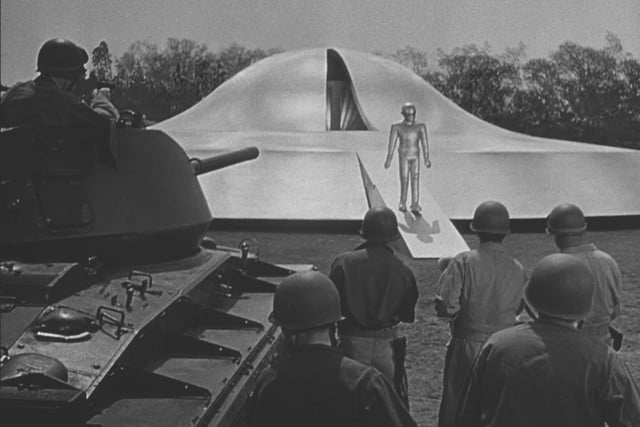best sci-fi movies on Netflix The Day the Earth Stood Still