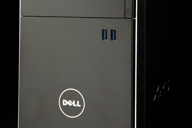 Dell XPS 8700 Desktop front tower angle