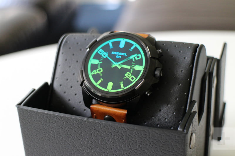 Diesel On Full Guard Smartwatch close up