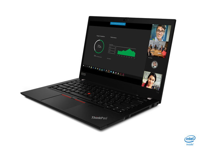 lenovo announces new thinkpad l x and t models for 2020 04 t14 hero front facing left