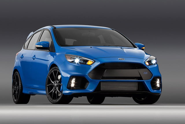 2016 Ford Focus RS press front
