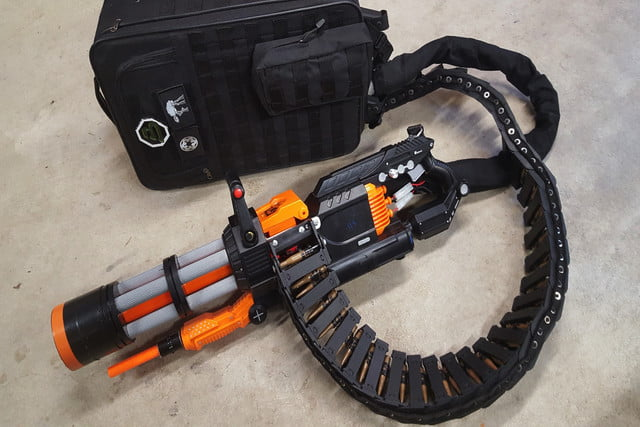 Nerf Gun Mod Fires 20 Rounds Per Second, Destroys Nieces And