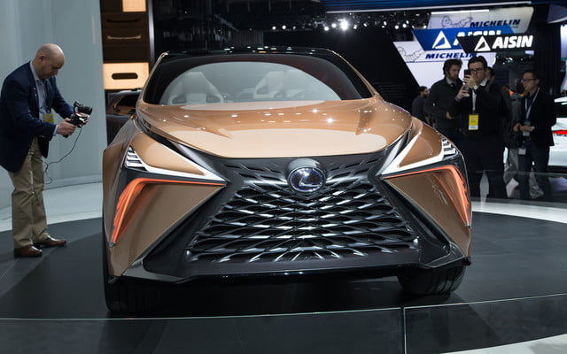 the lexus lf 1 limitless concept previews a new direction for flagship crossover 2018 detroit  2
