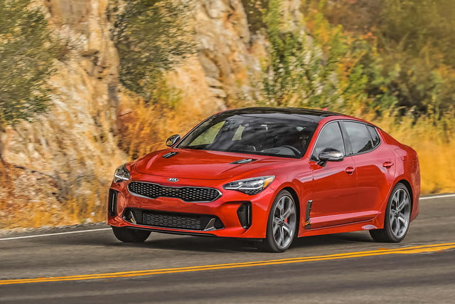 kia orth hedrick interview 2018 stinger red angle