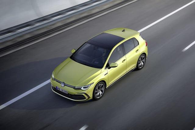 new 2020 volkswagen golf gets big tech powertrain upgrades official 4