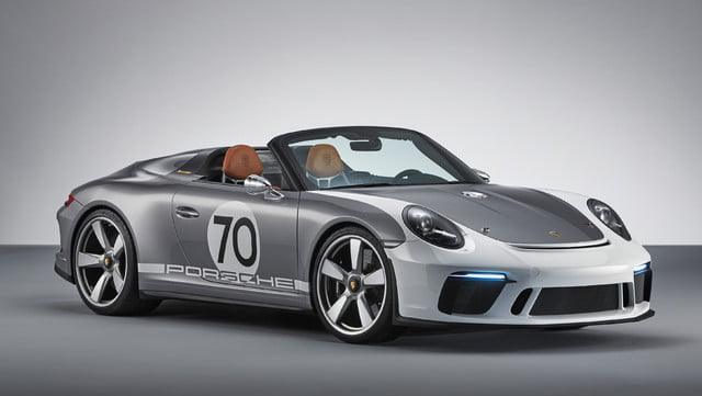 500hp porsche 911 speedster coming in 2019 as limited edition model 3658158 concept 2018 ag