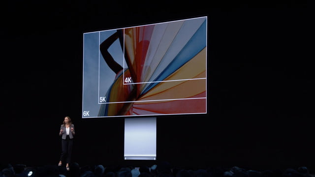 apple pro display xdr wwdc 2019 6k
