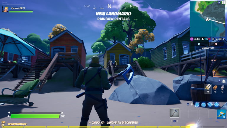 Fortnite 8-Ball vs. Scratch challenge guide: Dance at rainbow rentals