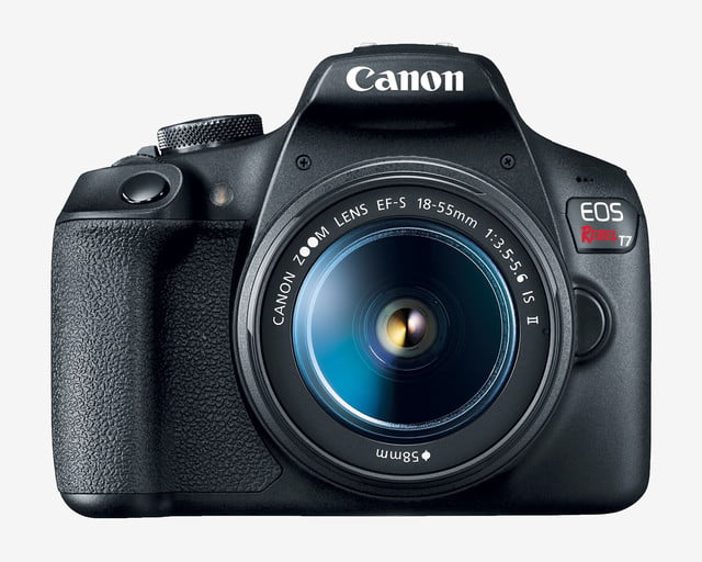 canon eos rebel t7 entry level dslr front