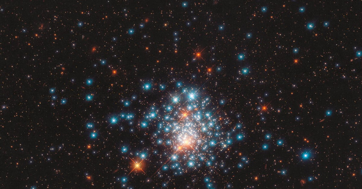 Hubble captures a globular cluster of densely packed stars