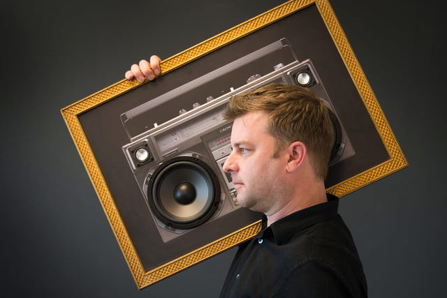 awesome tech you cant buy yet geizeer tiny1 walli a touch of bass  boombox art with built in speakers