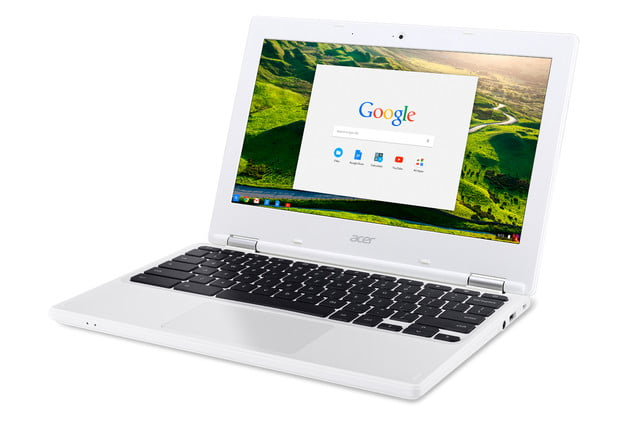 acer computing announce ces 2016 chromebook 11 cb3 131 left facing