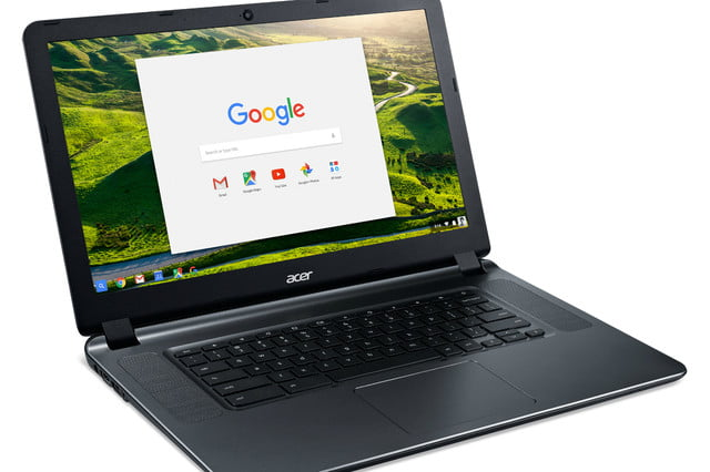 acer chromebook 15 12 hours battery life cb3 532 right facing gwp