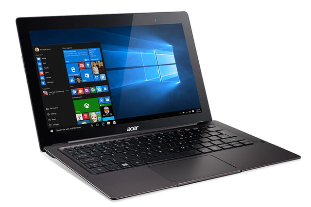 acer computing announce ces 2016 switch 12 s sw7 272 win10 front angle right