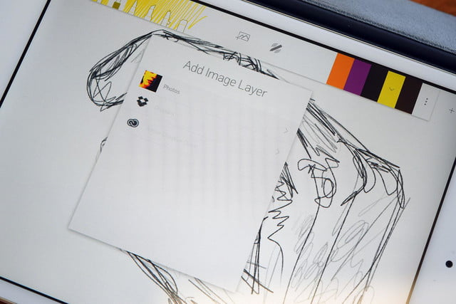 adonit forge drawing app interview