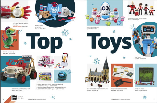 Amazon S Printed Holiday Toy Catalog Ships This Month Digital Trends