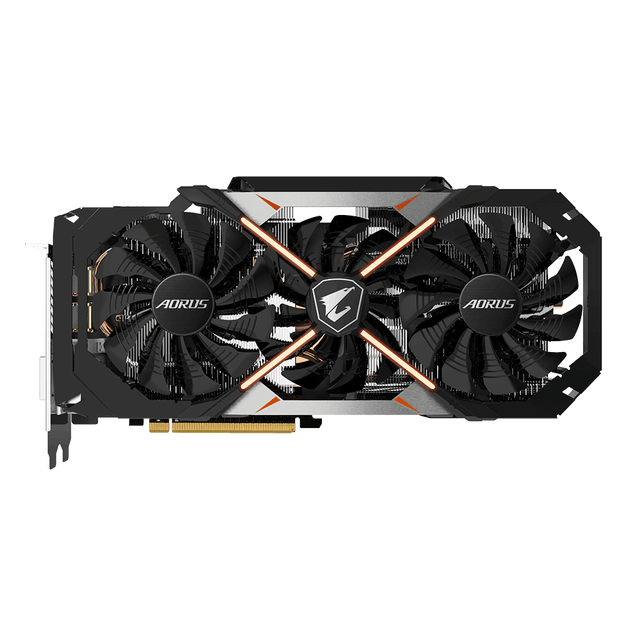 gigabyte introduces aorus geforce gtx 1070 8g front
