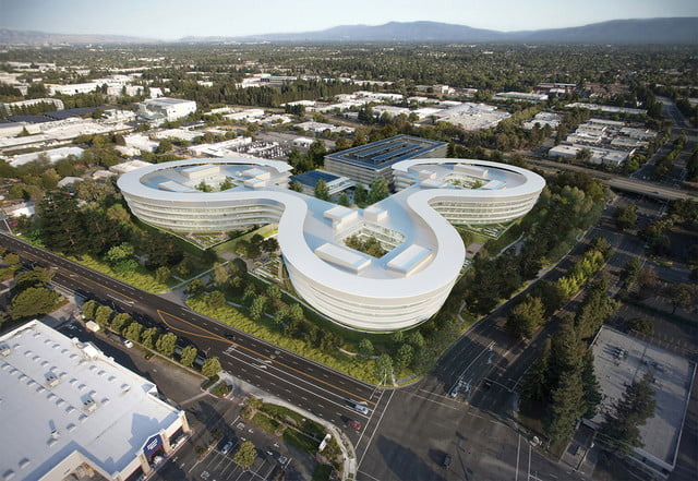 apple planning for second spaceship campus in silicon valley 1