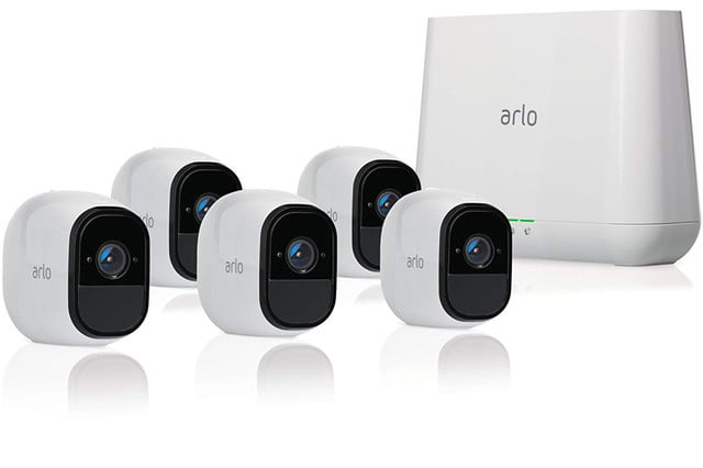 amazon drops prices for arlo pro home security cameras prime day 5 camera kit