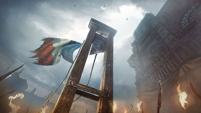 assassins creed unity reveals new weapons missions team opportunities helixguillotine