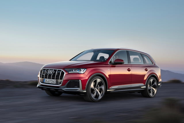 2020 audi q7 gets updated styling and tech