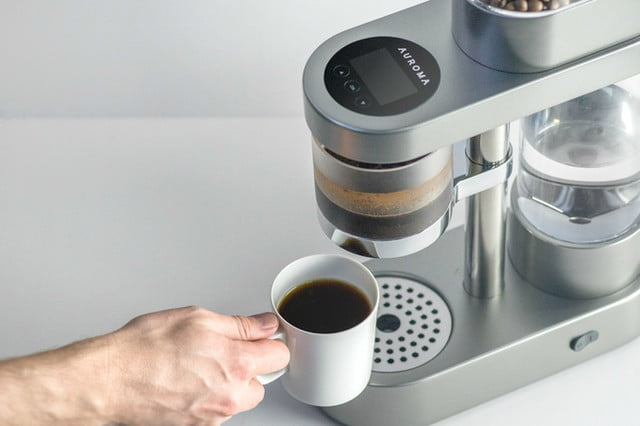 the auroma one learns how you like your coffee maker cup