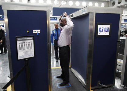 TSA removing backscatter x-ray scanners from large U S